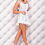 Rochie Tropical Dream White - Reduceri haine