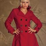 Palton Cinderella Red - Reduceri haine