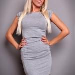 Rochie Spicy Flavour Grey - Reduceri haine