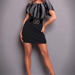 Rochie Pretty Style Grey - Reduceri haine