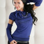 Pulover MissQ Embrace Blue - Reduceri Haine