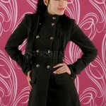 Palton Fabulous Style Darkbrown - Reduceri haine