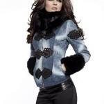 Jacheta Mexton Gracefully Blue - Reduceri haine