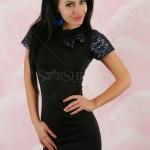 Rochie Party Glitter Black - Reduceri haine