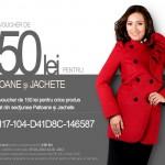 Cod Voucher de 150 lei pentru Jachete si Paltoane