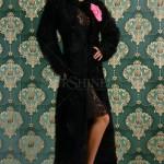 Palton Ocassion Glamour Black - Reduceri haine