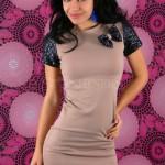 Rochie Party Glitter Cream - Reduceri haine