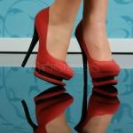 Pantofi Rosii Hypnotic