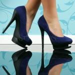 Pantofi Double Effect Blue