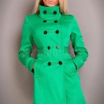 Trench Timeless Art Green