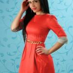 Rochie Rosie Princess Style Red