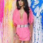 Rochie Mexton Goddess Pink