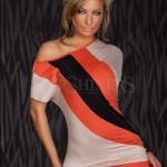 Rochie Attractive Look Orange