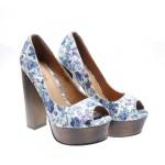 Pantofi de dama albi Welcome Spring