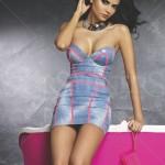 Rochie Mexton Stripes Blue