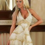Rochie Sherri Hill Luxurious Gold