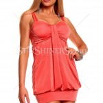 Rochie Club Effect Coral