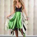 Rochie eleganta verde Unforgettable