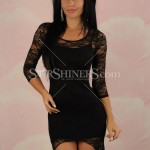 Rochie neagra Love Fusion