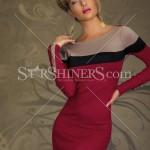 Rochie scurta Passion Allure Red