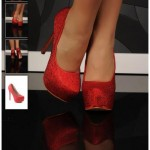Pantofi dama Gorgeous Effect Red
