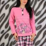 Pijama dama roz Lovely