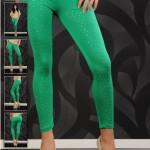 Colanti colorati Star Green