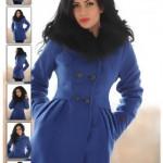 Palton dama cu gluga Feminine Note