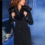 Palton dama negru Mexton