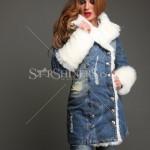 Palton dama de blugi Mexton