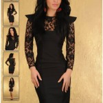 Rochie eleganta neagra LaDonna