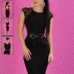Rochie eleganta neagra Fofy Unique