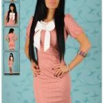 Rochie roz pal LaDonna