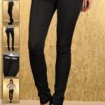 Pantaloni eleganti negri Fofy