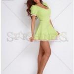 Rochie verde BB Spring