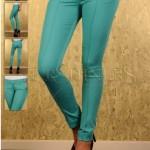 Pantaloni turcoaz Fofy