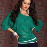 Bluza tricotata de toamna