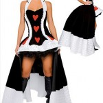 Costum Halloween regina