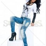 Jeans albastri Mexton