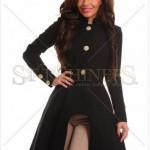 Palton dama asimetric