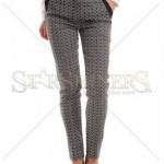 Pantaloni lungi cu imprimeu