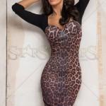 Rochie mulata leopard