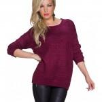 Bluza visinie tricotata