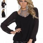 Bluza neagra online