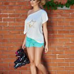 Pantaloni scurti sport dama