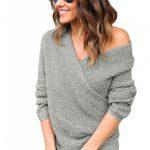 Bluza tricotata lunga