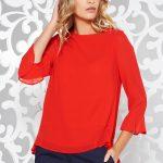 Bluza rosie eleganta dama