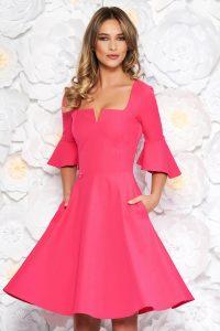 rochie office roz